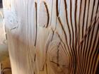 Liivapritsiga töödeldud puit